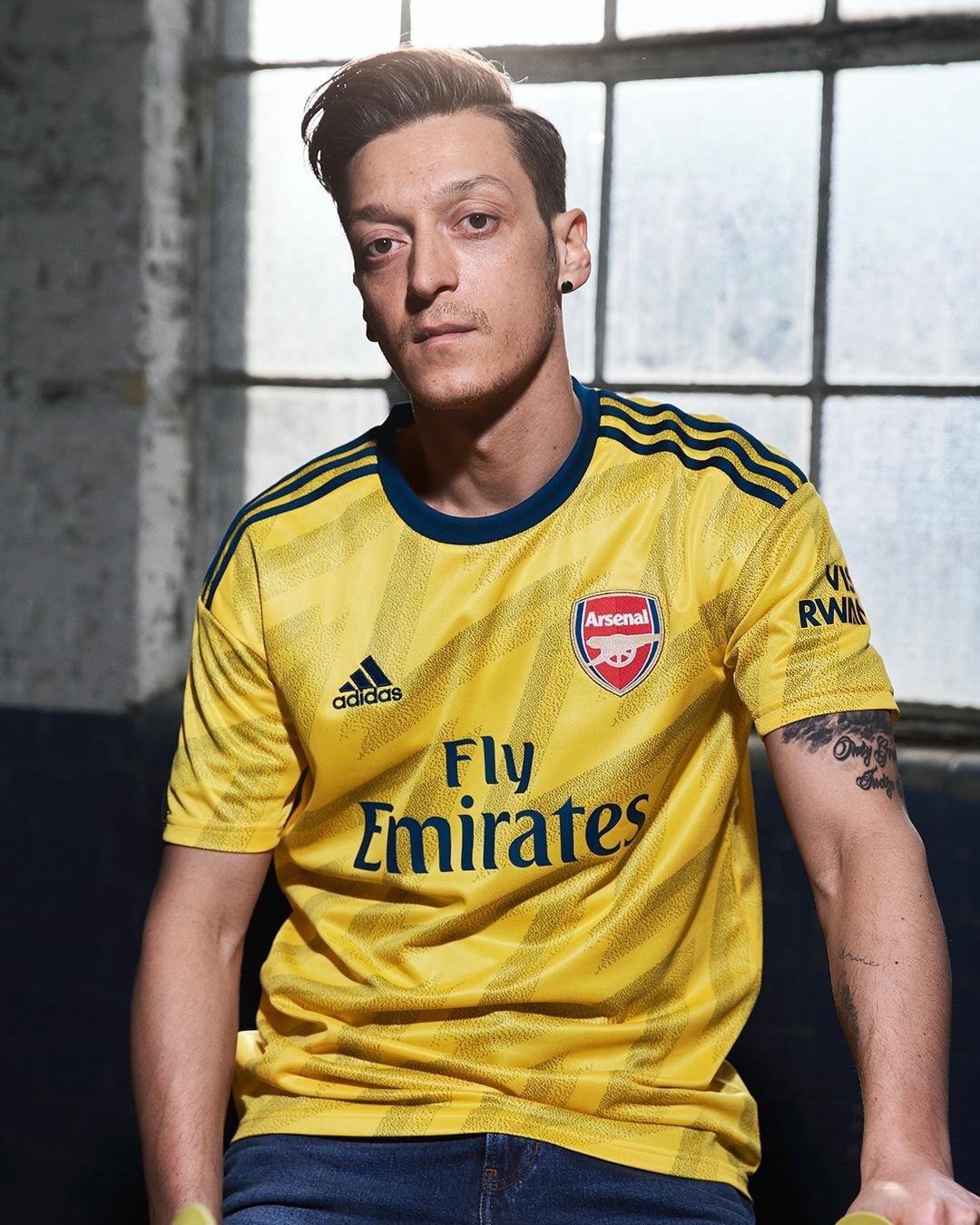 Adidas Arsenal Away Kit 2019-20 Unveiled
