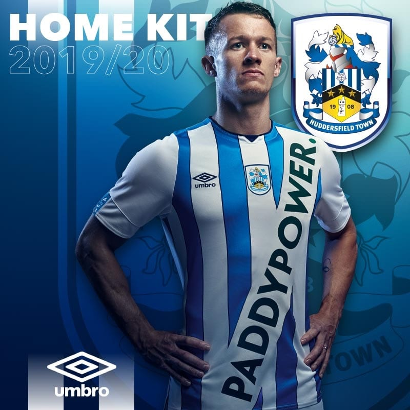 Umbro Huddersfield Town Home Kit 2019-20