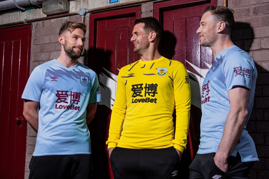 Umbro Burnley FC Away Kit 2019-20 | The Kitman