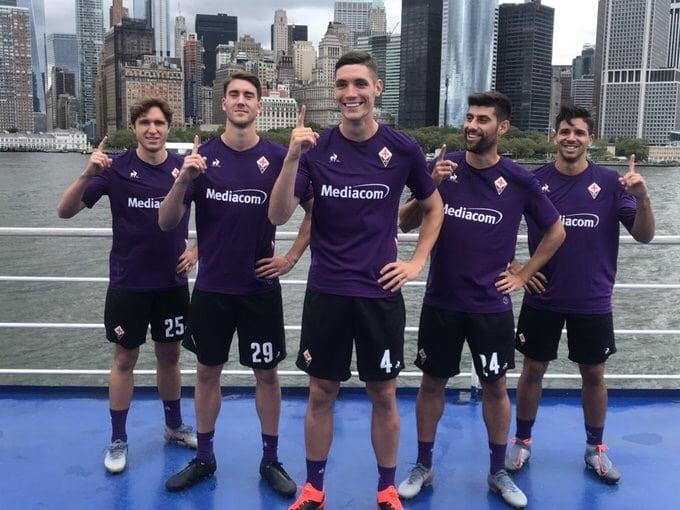 Le Coq Sportif Fiorentina Home Kit 2019-20 Unveiled