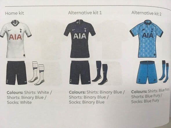 buy online 65fcf 41be4 Nike 2019-20 Tottenham Third Kit Leaked | The Kitman