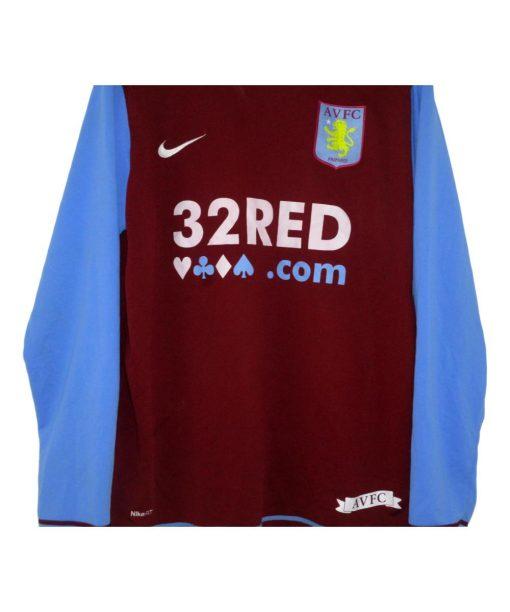 Nike 2007-08 Aston Villa Home Shirt