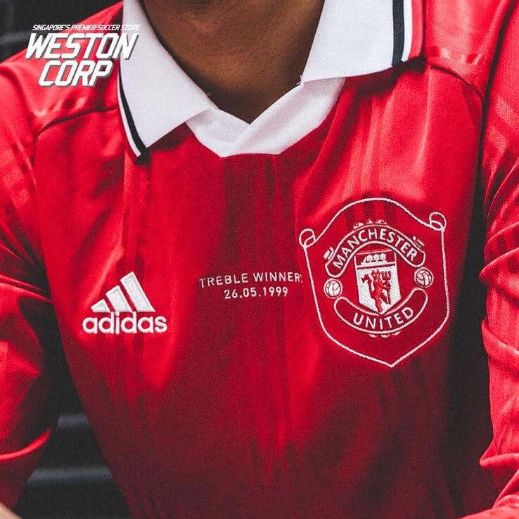 Adidas Manchester United Icons Shirt 2019 20 | The Kitman