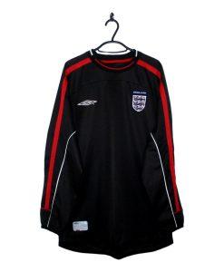 2001-03 England Goalkeeper Jersey