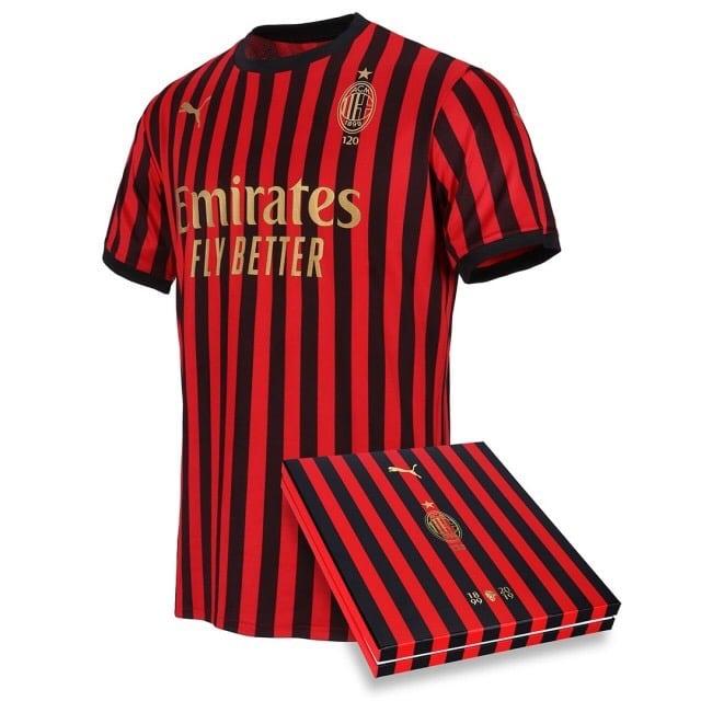 AC Milan 120th Anniversary Shirt Released