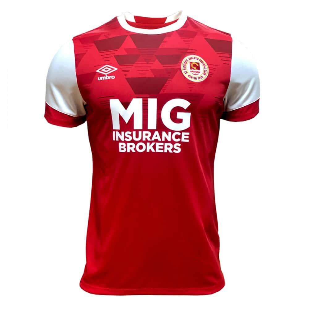 St Patrick's Athletic FC 2020 Umbro Home Kit