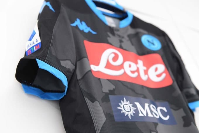 Napoli 2019 20 District Fourth Kit The Kitman