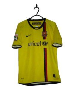2008-09 FC Barcelona Away Shirt