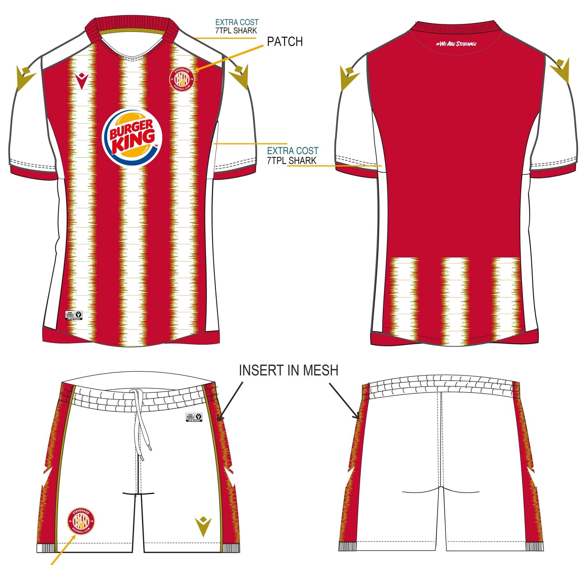 Stevenage FC 2020-21 Home Kit Vote