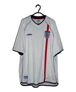 2001-03 England Home Shirt