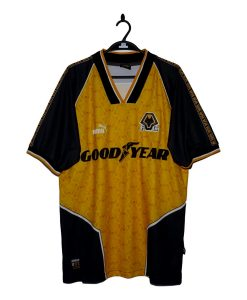 1996-98 Wolves Home Shirt