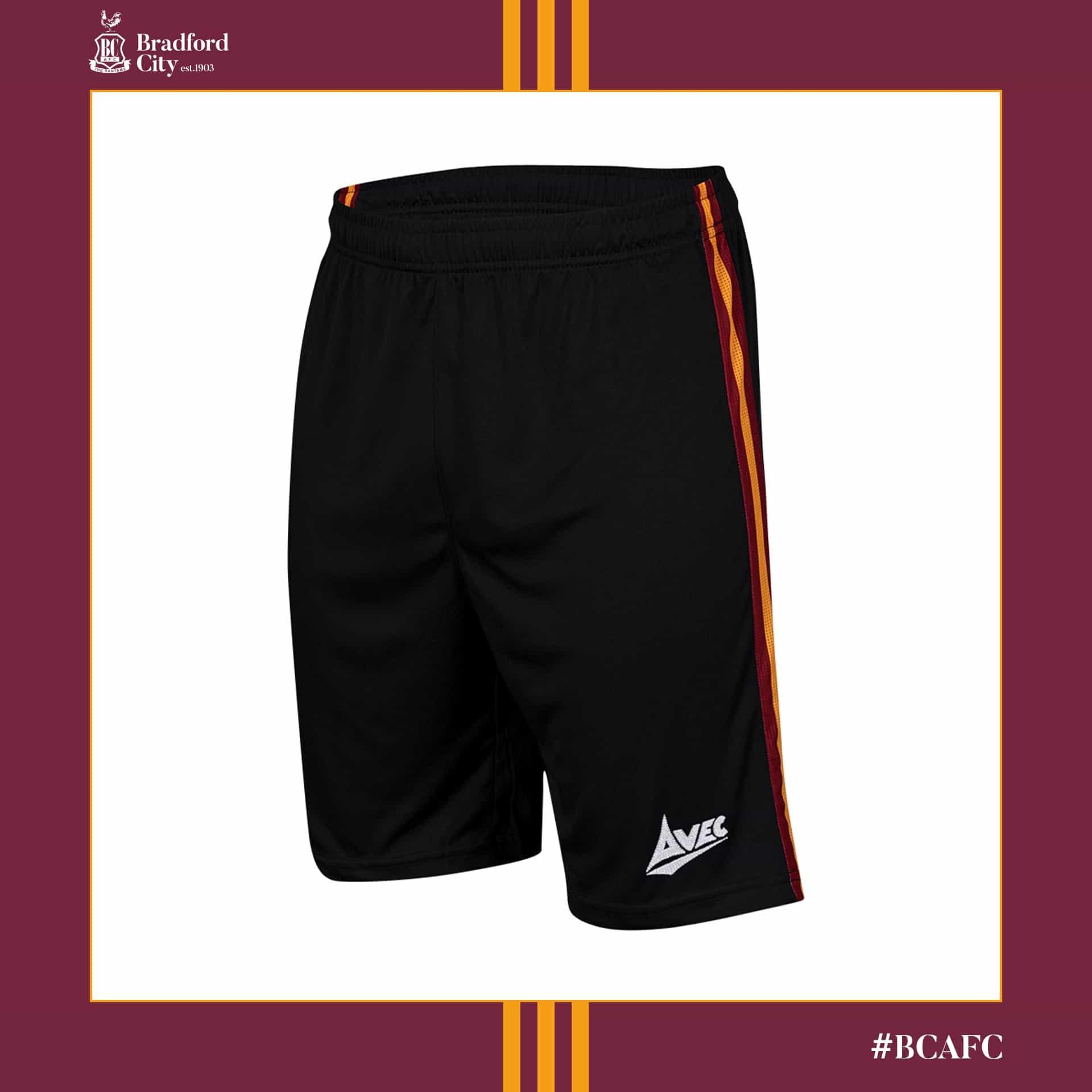 Bradford City 2020-21 Avec Sport Home Kit | The Kitman