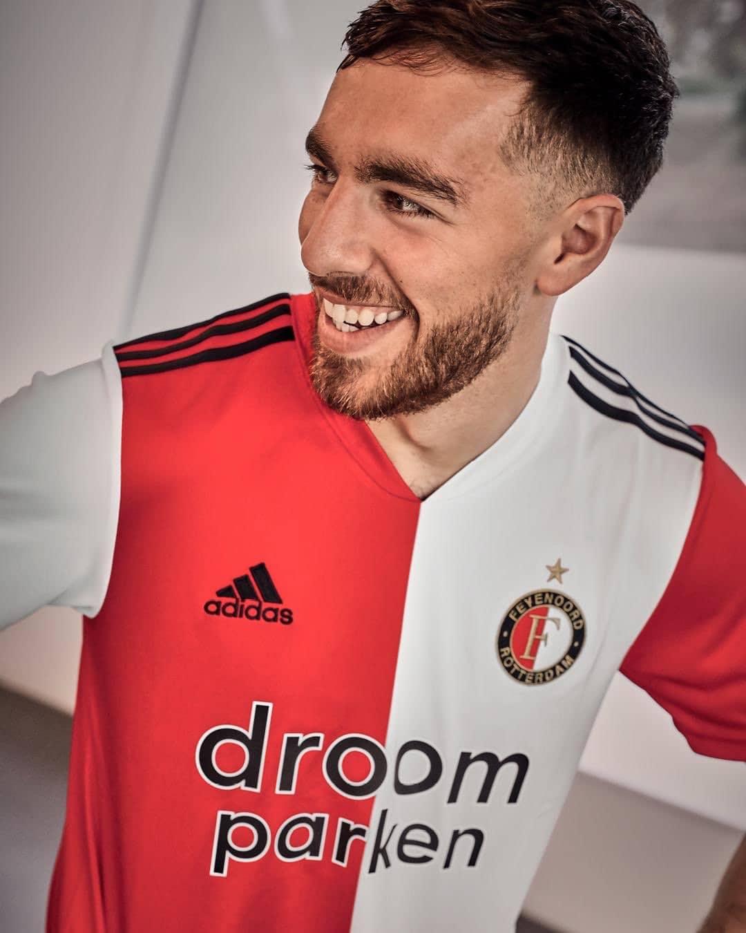 Feyenoord 2020 21 Adidas Home Kit The Kitman