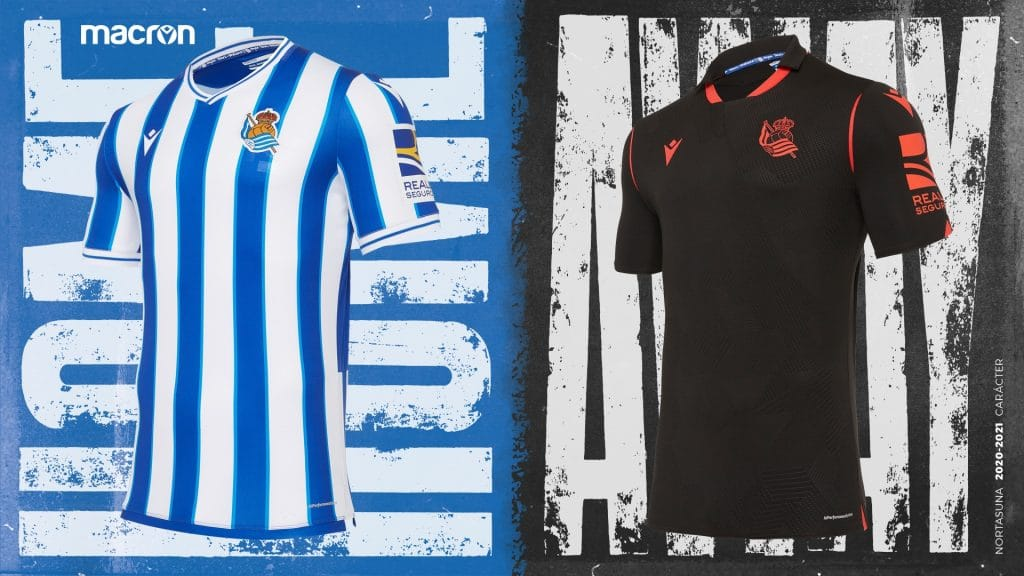 Real Sociedad 2020 21 Macron Kits Revealed The Kitman