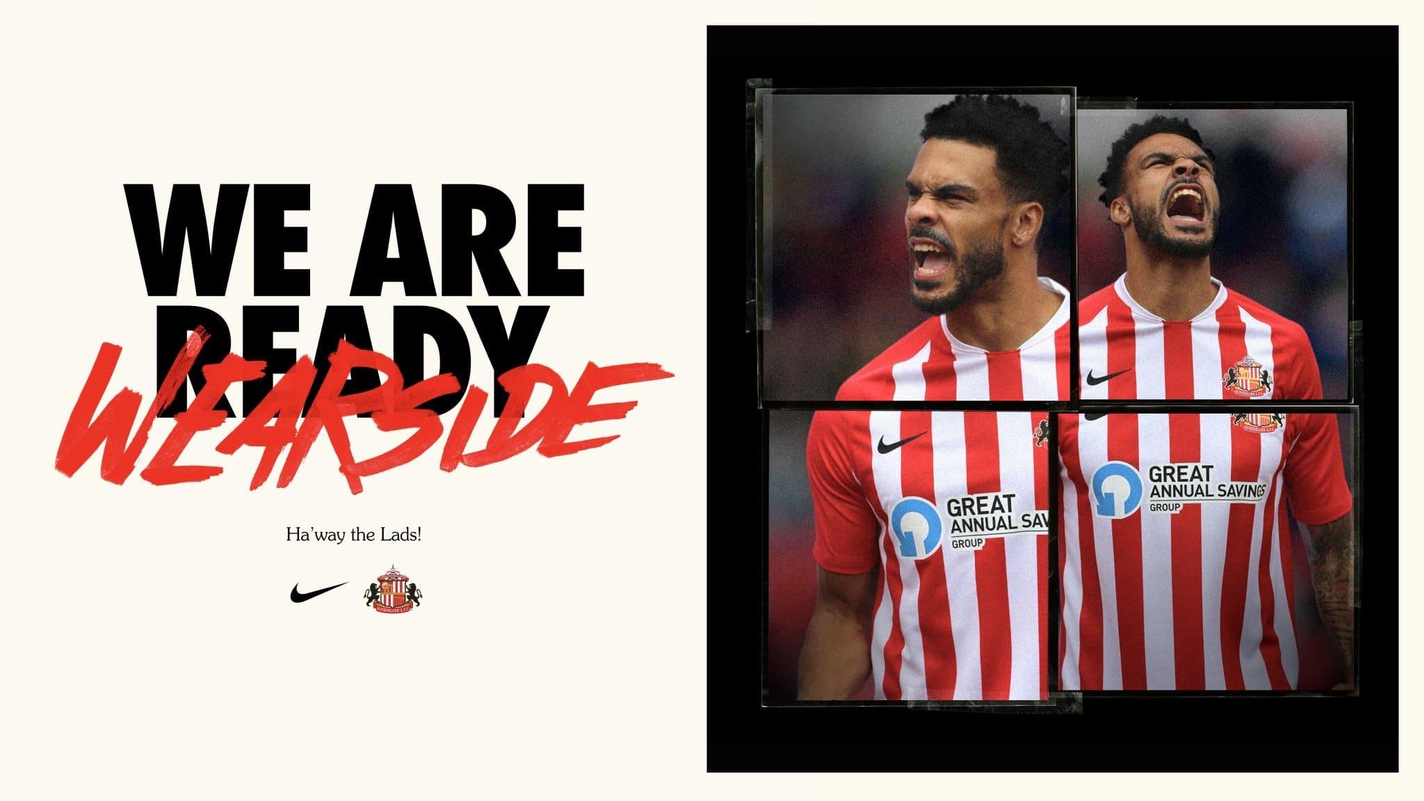 Sunderland AFC 2020-21 Nike Home Kit