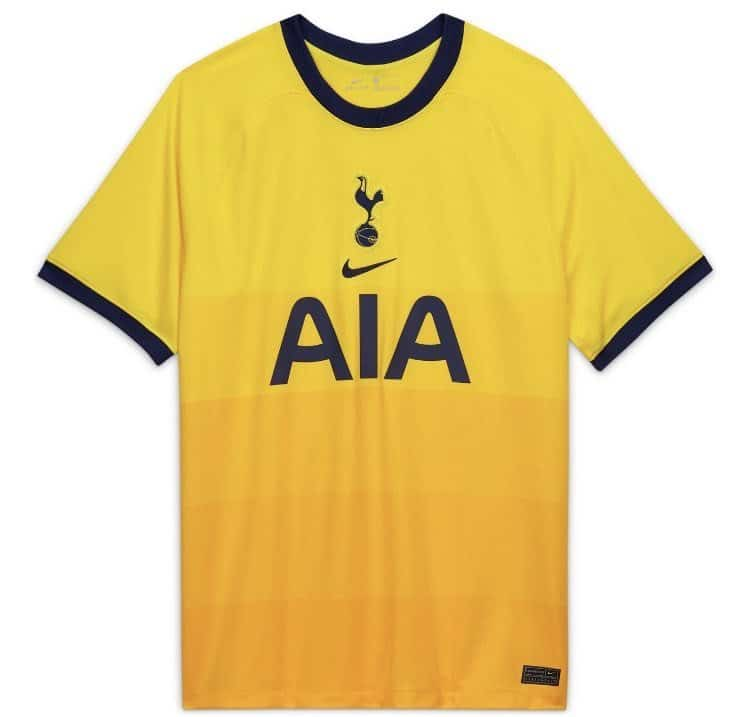 Tottenham Hotspur 2020 21 Nike Third Kit The Kitman