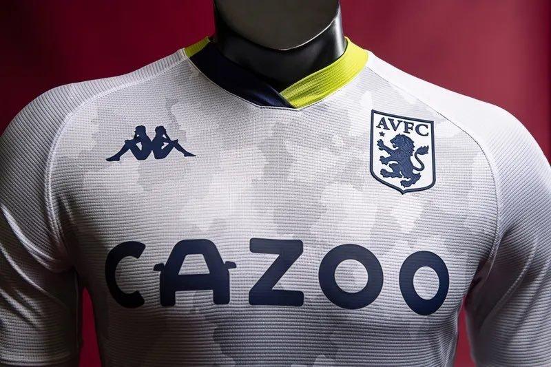 Aston Villa 2020 21 Kappa Third Kit The Kitman